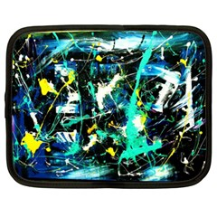 Brain Reflections Netbook Case (xxl)  by bestdesignintheworld