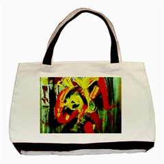 437241213103536   Bread And Fish Basic Tote Bag (two Sides) by bestdesignintheworld