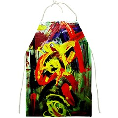 437241213103536 - Bread And Fish Full Print Aprons by bestdesignintheworld