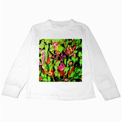 Spring Ornaments Kids Long Sleeve T Shirts by bestdesignintheworld