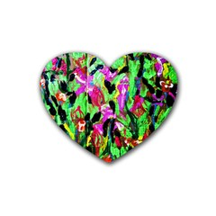 Spring Ornaments 2 Heart Coaster (4 Pack)  by bestdesignintheworld