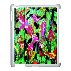 Spring Ornaments 2 Apple Ipad 3/4 Case (white) by bestdesignintheworld