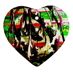Easter Heart Ornament (two Sides) by bestdesignintheworld