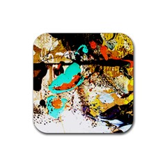 Fragrance Of Kenia 3 Rubber Coaster (square)  by bestdesignintheworld