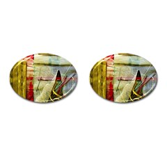 Hidden Strings Of Purity 6 Cufflinks (oval)