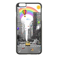 Downtown Dream Apple Iphone 6 Plus/6s Plus Black Enamel Case