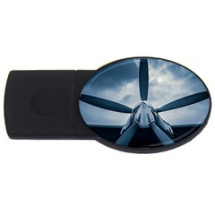 Propeller   Sky Challenger Usb Flash Drive Oval (2 Gb) by FunnyCow