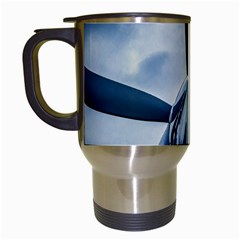 Propeller   Sky Challenger Travel Mugs (white) by FunnyCow