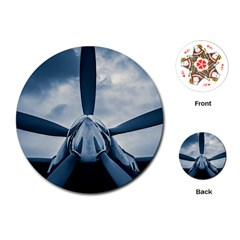 Propeller   Sky Challenger Playing Cards (round)