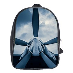 Propeller   Sky Challenger School Bag (large) by FunnyCow