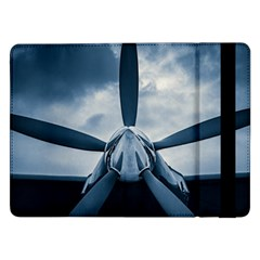 Propeller   Sky Challenger Samsung Galaxy Tab Pro 12 2  Flip Case by FunnyCow