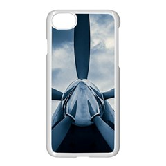Propeller   Sky Challenger Apple Iphone 8 Seamless Case (white) by FunnyCow