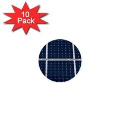 Solar Power Panel 1  Mini Buttons (10 Pack)  by FunnyCow