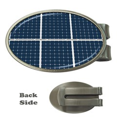 Solar Power Panel Money Clips (oval)  by FunnyCow