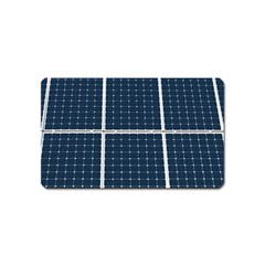 Solar Power Panel Magnet (name Card) by FunnyCow