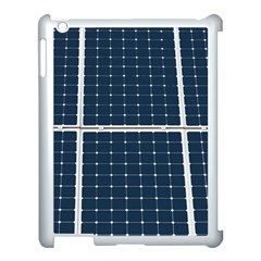 Solar Power Panel Apple Ipad 3/4 Case (white) by FunnyCow