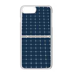 Solar Power Panel Apple Iphone 8 Plus Seamless Case (white) by FunnyCow