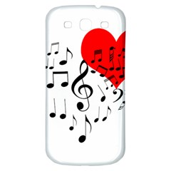 Singing Heart Samsung Galaxy S3 S Iii Classic Hardshell Back Case