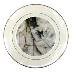 Canyon Rocks Natural Earth Art Texture Porcelain Plate by CrypticFragmentsDesign