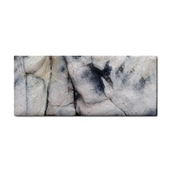 Canyon Rocks Natural Earth Art Texture Hand Towel by CrypticFragmentsDesign