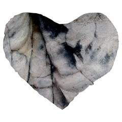 Canyon Rocks Natural Earth Art Texture Large 19  Premium Heart Shape Cushion by CrypticFragmentsDesign