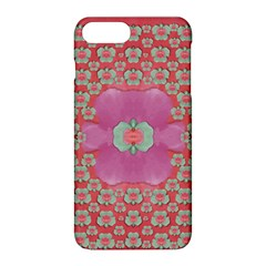 Fantasy Flowers In Everything That Is Around Us In A Free Environment Apple Iphone 8 Plus Hardshell Case