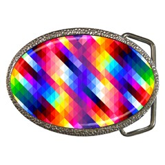 Abstract Background Colorful Pattern Belt Buckles by Nexatart