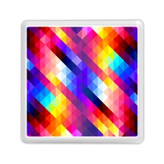 Abstract Background Colorful Pattern Memory Card Reader (square)
