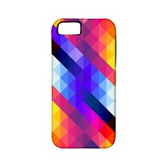 Abstract Background Colorful Pattern Apple Iphone 5 Classic Hardshell Case (pc+silicone)