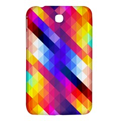 Abstract Background Colorful Pattern Samsung Galaxy Tab 3 (7 ) P3200 Hardshell Case
