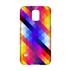 Abstract Background Colorful Pattern Samsung Galaxy S5 Hardshell Case