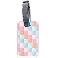 Abstract Pattern Background Pastel Luggage Tags (two Sides)