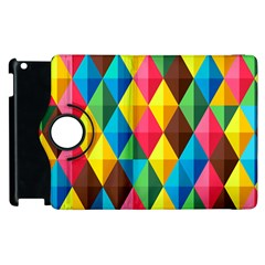 Background Colorful Abstract Apple Ipad 3/4 Flip 360 Case