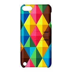 Background Colorful Abstract Apple Ipod Touch 5 Hardshell Case With Stand