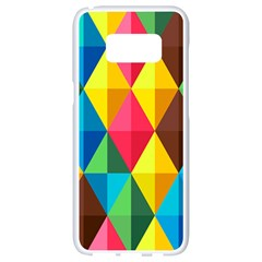 Background Colorful Abstract Samsung Galaxy S8 White Seamless Case