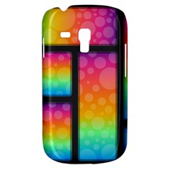 Background Colorful Abstract Samsung Galaxy S3 Mini I8190 Hardshell Case