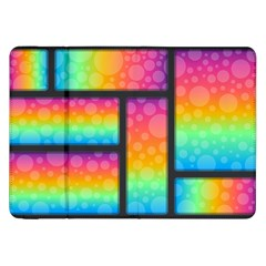 Background Colorful Abstract Samsung Galaxy Tab 8 9  P7300 Flip Case
