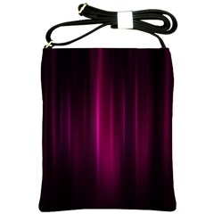 Theater Cinema Curtain Stripes Shoulder Sling Bags
