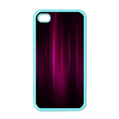 Theater Cinema Curtain Stripes Apple Iphone 4 Case (color)