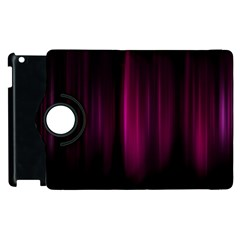 Theater Cinema Curtain Stripes Apple Ipad 3/4 Flip 360 Case by Nexatart