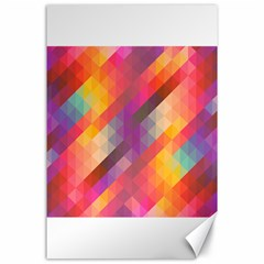 Abstract Background Colorful Pattern Canvas 24  X 36