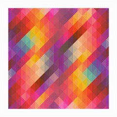 Abstract Background Colorful Pattern Medium Glasses Cloth (2 Side)