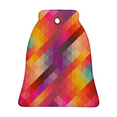 Abstract Background Colorful Pattern Ornament (bell)