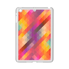 Abstract Background Colorful Pattern Ipad Mini 2 Enamel Coated Cases by Nexatart