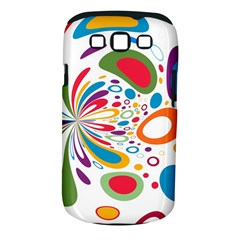 Light Circle Background Points Samsung Galaxy S Iii Classic Hardshell Case (pc+silicone)
