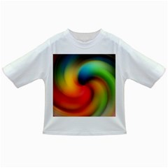Abstract Spiral Art Creativity Infant/toddler T Shirts