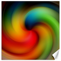 Abstract Spiral Art Creativity Canvas 20  X 20   by Nexatart