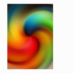 Abstract Spiral Art Creativity Large Garden Flag (two Sides) by Nexatart