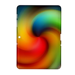 Abstract Spiral Art Creativity Samsung Galaxy Tab 2 (10 1 ) P5100 Hardshell Case