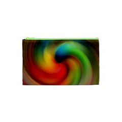 Abstract Spiral Art Creativity Cosmetic Bag (xs)